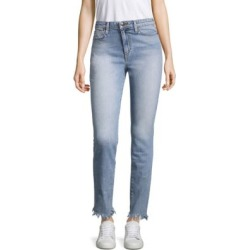 Charlie Frayed Straight-Leg Jeans found on MODAPINS from Saks Fifth Avenue for USD $59.40