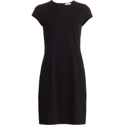 Joan Vass Women's Stretch Pique Casual Dress - Black - Size 12 found on MODAPINS from Saks Fifth Avenue for USD $210.00