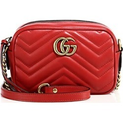 Gucci Women's GG Marmont Camera Bag - Red found on Bargain Bro India from Saks Fifth Avenue for $980.00