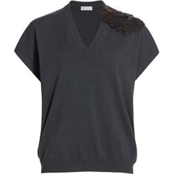 Embellished Floral-Appliqué Cashmere Sweater found on Bargain Bro Philippines from Saks Fifth Avenue AU for $2850.95