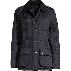 Barbour Women's Beadnel Quilted Jacket - Navy - Size 14 found on MODAPINS from Saks Fifth Avenue for USD $280.00