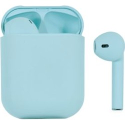 Wireless Aqua Earbuds & Charging Case
