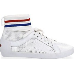 Ash Women's Ninja Perforated Sneakers - White - Size 39 (9) found on MODAPINS from Saks Fifth Avenue for USD $79.20