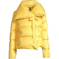 Bacon Women's Puffa Cropped Jacket - Yellow - Size Large found on MODAPINS from Saks Fifth Avenue for USD $430.50