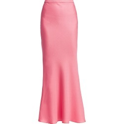 Maggie Marilyn Women's Shine Bright Crepe Mermaid Maxi Skirt - Guava - Size 8 found on MODAPINS from Saks Fifth Avenue for USD $153.99