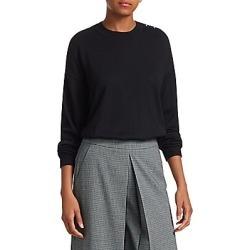 Alexander Wang Women's Wool & Silk Pullover Sweater - Black - Size Medium found on MODAPINS from LinkShare USA for USD $238.12