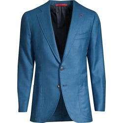 Isaia Men's Cashmere & Silk Blazer - Light Blue - Size 54 (44) R found on MODAPINS from Saks Fifth Avenue for USD $3995.00