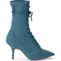 Yeezy Women's Lace-Up Heeled Boots - Aqua - Size 35 (5) found on MODAPINS from Saks Fifth Avenue OFF 5TH for USD $299.99