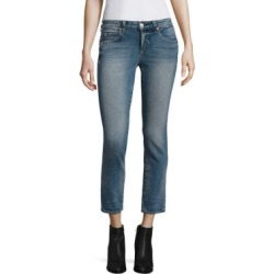 Kate Cropped Straight-Leg Jeans found on MODAPINS from Saks Fifth Avenue for USD $262.00