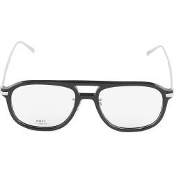 Berluti Men's 55MM Plastic Navigator Optical Glasses - Black found on MODAPINS from Saks Fifth Avenue for USD $670.00