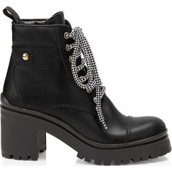 Nevermind Leather Combat Boots found on Bargain Bro from Saks Fifth Avenue Canada for USD $675.91
