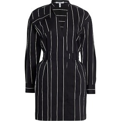 Derek Lam 10 Crosby Women's Striped Utility Dress - Black White - Size 4 found on Bargain Bro Philippines from Saks Fifth Avenue for $237.00