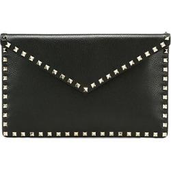 Valentino Garavani Large Rockstud Leather Clutch found on Bargain Bro from Saks Fifth Avenue AU for USD $581.98