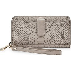 Gigi New York Women's City Python-Embossed Leather Phone Wallet - Stone found on MODAPINS from Saks Fifth Avenue for USD $210.00