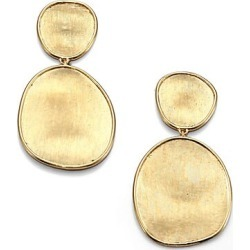 Marco Bicego Women's Lunaria 18K Yellow Gold Double-Drop Earrings - Gold found on Bargain Bro Philippines from Saks Fifth Avenue for $1680.00