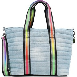 Pride Wingman Washed Denim Quilted Tote found on Bargain Bro from Saks Fifth Avenue AU for USD $191.31
