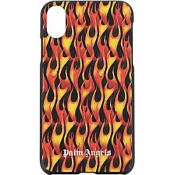 Palm Angels Burning iPhone X Case - Black/Mult - Size OS found on Bargain Bro Philippines from Saks Fifth Avenue for $47.50