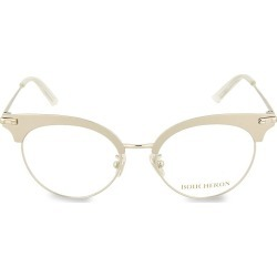 Boucheron Men's 50MM Oval Metal Optical Glasses - Cream Blear found on MODAPINS from Saks Fifth Avenue OFF 5TH for USD $199.99