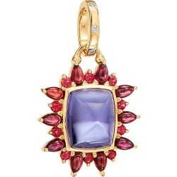 Temple St. Clair Women's Dreamcatcher 18K Yellow Gold, Lolite & Mixed-Stone Halo Pendant - Gold found on Bargain Bro from Saks Fifth Avenue for USD $4,712.00
