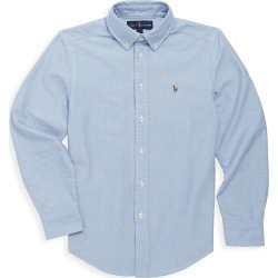 Ralph Lauren Little Boy's & Boy's Cotton Oxford Sport Shirt - Blue - Size 18 found on Bargain Bro India from Saks Fifth Avenue for $50.00