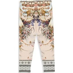 Girl's Printed Leggings