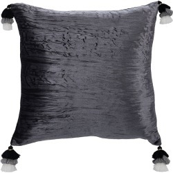 Safavieh Gwena Toss Pillow - Dark Grey found on Bargain Bro from Saks Fifth Avenue OFF 5TH for USD $30.39