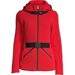 Post Card Women's Ski Olympic Jacket - Red - Size 42 (6)