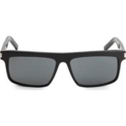 SL 246-001 57MM Acetate Square Sunglasses