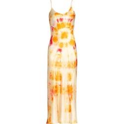 Bullseye Tie-Dye Silk Midi Dress found on Bargain Bro India from Saks Fifth Avenue AU for $413.83
