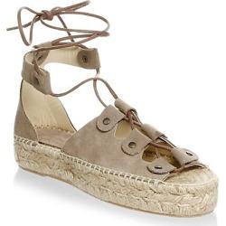 Ghillie Suede Platform Espadrille Sandals