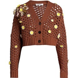 Macrame Flowers Embroidered Cardigan found on MODAPINS from Saks Fifth Avenue AU for USD $3152.70