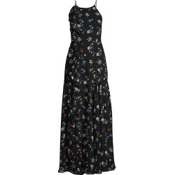 FAME AND PARTNERS Women's The York Floral Gown - Valentina Floral - Size 14