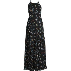 FAME AND PARTNERS Women's The York Floral Gown - Valentina Floral - Size 4