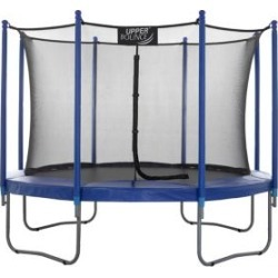 3 m Ensemble de trampoline facile à assembler avec système de protection