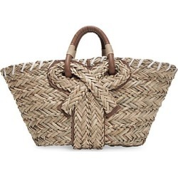 Anya Hindmarch Women's Small Bow Seagrass Tote - Natural found on MODAPINS from Saks Fifth Avenue for USD $595.00