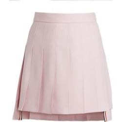 Classic Pleated Wool Mohair Mini Skirt found on Bargain Bro India from Saks Fifth Avenue AU for $1327.43