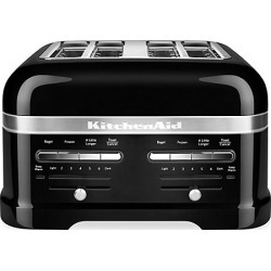 KitchenAid Pro Line 4-Slice Automatic Toaster with Dual Independent Controls - Onyx Black