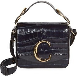 Mini Chloé C Croc-Embossed Leather Crossbody Bag found on Bargain Bro India from Saks Fifth Avenue AU for $1796.02