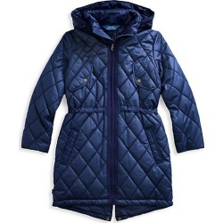 Girl's Quilted Longline Coat found on Bargain Bro from Saks Fifth Avenue Canada for USD $57.65