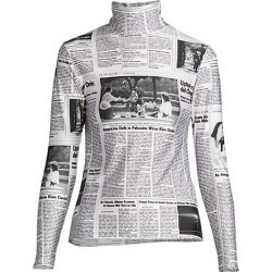 Happy News Long-Sleeve Turtleneck found on MODAPINS from Saks Fifth Avenue UK for USD $529.30