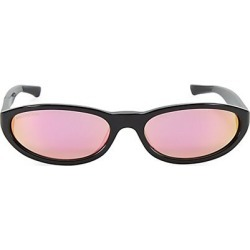 Balenciaga Women's 59MM Rectangular Narrow Sunglasses - Black found on MODAPINS from Saks Fifth Avenue for USD $350.00