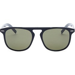 Dior Homme Men's Black Tie 24 52MM Square Sunglasses - Black Green found on MODAPINS from Saks Fifth Avenue for USD $167.50