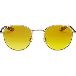 Barton Perreira Men's 10-Year Anniversary Tudor 52MM Gradient Round Sunglasses - Yellow found on MODAPINS from LinkShare USA for USD $490.00