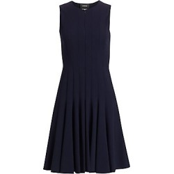Akris Women's Zipper-Accented Wool Dress - Navy - Size 4 found on MODAPINS from Saks Fifth Avenue for USD $2990.00