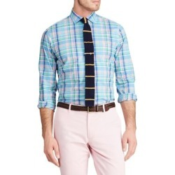 Slim Fit Plaid Cotton Shirt found on Bargain Bro India from The Bay for $49.99