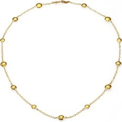 Gurhan Women's Lentil 24K Yellow Gold Mini Station Necklace - Gold found on Bargain Bro Philippines from Saks Fifth Avenue for $3350.00
