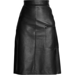 A-Line Leather Skirt found on Bargain Bro Philippines from Saks Fifth Avenue AU for $392.26
