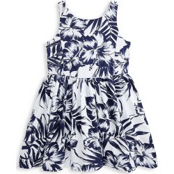 Ralph Lauren Little Girl's and Girl's Tropical Palm Leaf A-Line Dress - Size 14 found on Bargain Bro India from Saks Fifth Avenue for $79.50