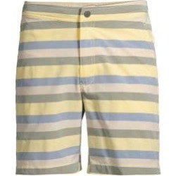 Calder Striped Swim Trunks found on MODAPINS from Saks Fifth Avenue Canada for USD $78.65