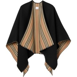 Icon Stripe To Solid Wool Cape found on Bargain Bro UK from Saks Fifth Avenue UK